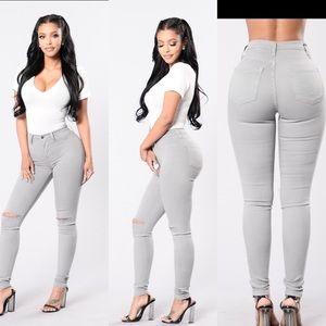 Canopy Jeans - Grey Size 11